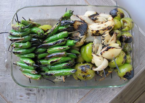 Grilled vegetab;es