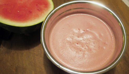 Watermelon puree